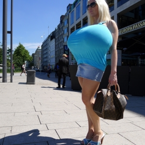 New Update - Big Boobs Out In Public III