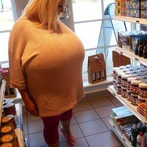 Biggest boobs in everyday situations